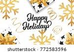 christmas. background for...   Shutterstock .eps vector #772583596
