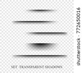 transparent paper with... | Shutterstock .eps vector #772650016