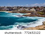 australia  homes and coast of... | Shutterstock . vector #772652122