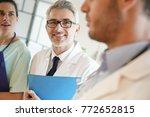 medical people walking in... | Shutterstock . vector #772652815