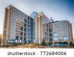 novi sad  serbia marth 21  2015 ... | Shutterstock . vector #772684006