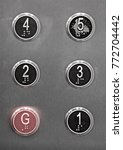 generic black numbered buttons... | Shutterstock . vector #772704442