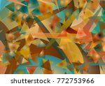 abstract background out of... | Shutterstock .eps vector #772753966