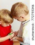 childhood  relationship between ... | Shutterstock . vector #772755346