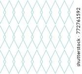 tile white and mint blue vector ...   Shutterstock .eps vector #772761592