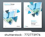 brochure template layout design.... | Shutterstock .eps vector #772773976