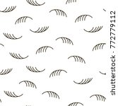 modern stylish lashes and... | Shutterstock .eps vector #772779112