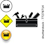 toolbox with tools symbol sign... | Shutterstock .eps vector #77278714