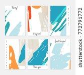 hand drawn creative universal... | Shutterstock .eps vector #772791772
