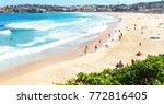 in  australia people in  bondie ... | Shutterstock . vector #772816405