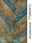 reclaimes rustic wooden barn... | Shutterstock . vector #772840972