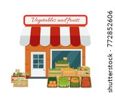vector illustration of fruits...   Shutterstock .eps vector #772852606