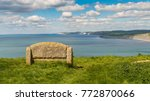 stone bench at the south west... | Shutterstock . vector #772870066