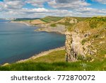 view from the south west coast... | Shutterstock . vector #772870072
