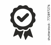 approval check vector icon | Shutterstock .eps vector #772897276