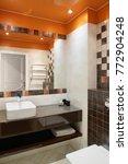 beautiful and modern interior... | Shutterstock . vector #772904248