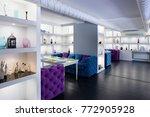 beautiful brand new european... | Shutterstock . vector #772905928