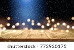 table background of free space... | Shutterstock . vector #772920175