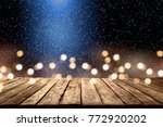 table background of free space... | Shutterstock . vector #772920202