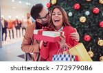 new year's surprise for a... | Shutterstock . vector #772979086