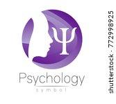 modern head logo sign of... | Shutterstock .eps vector #772998925