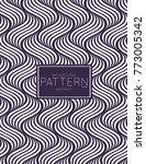 abstract geometric vector...   Shutterstock .eps vector #773005342