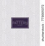 abstract geometric vector...   Shutterstock .eps vector #773005372