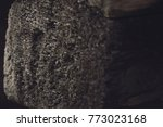 old dark wood timber texture or ... | Shutterstock . vector #773023168