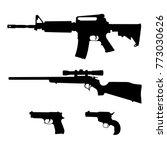 semi automatic rifle  bolt...