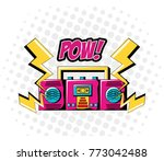 pop art design | Shutterstock .eps vector #773042488