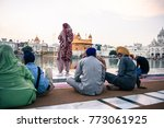 amritsar  india   march 20 ... | Shutterstock . vector #773061925