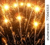 happy new year celebration...   Shutterstock .eps vector #773065315