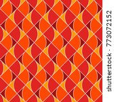 seamless surface pattern with... | Shutterstock .eps vector #773072152