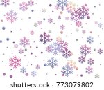 Snowflake And Circle Elements...