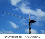 television antenna for signal... | Shutterstock . vector #773090542