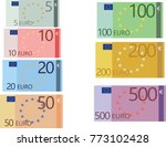 Euro Banknotes Collection