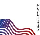 united states of america flag... | Shutterstock .eps vector #773108215