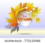 Hello Autumn Calligraphy With...