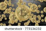bitcoin secure global financial ... | Shutterstock . vector #773136232