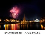 firework display for... | Shutterstock . vector #773159158