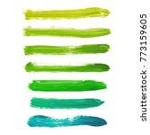 set of acid green  yellow ... | Shutterstock .eps vector #773159605