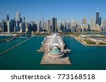 Aerial View Of Navy Pier And...