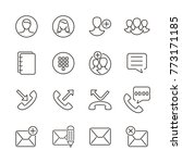 user interface icon for contact ...