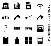 origami style icon set  ... | Shutterstock .eps vector #773178352