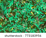 messy confetti pixel style... | Shutterstock . vector #773183956