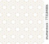 seamless geometric background.... | Shutterstock .eps vector #773184886