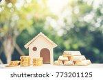 real estate valuation saving...   Shutterstock . vector #773201125