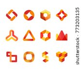 vector design elements for your ... | Shutterstock .eps vector #773203135