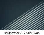 light and shadow from the... | Shutterstock . vector #773212606