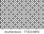 abstract futuristic halftone... | Shutterstock .eps vector #773214892